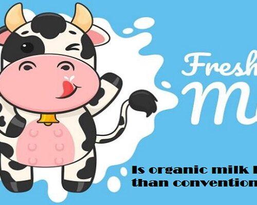 Cow and milk cartoon image